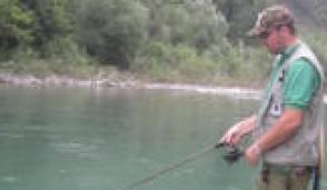 C'è l'annuale gara  sociale di pesca