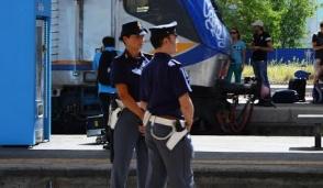 Controlli della Polfer nelle stazioni ferroviarie