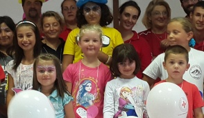 Croce Rossa: festa con i bambini