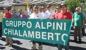 Festa speciale per gli Alpini di Chialamberto
