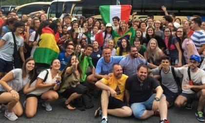 I giovani di Villanova, Nole e Mathi a Cracovia: 26 ore di pullman per incontrare Papa Francesco