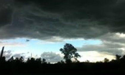 La perturbazione dalla Francia porta nubi e temporali sparsi