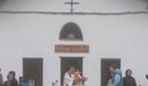 Si inaugura il tetto in lose della cappella