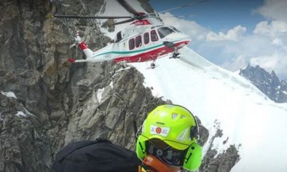 Alpinista di Chiaverano muore sul Monte Rosa