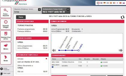 Treno per Aosta in ritardo per la grandine