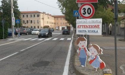A Favria ecco i cartelli (a forma di bambino) per la sicurezza