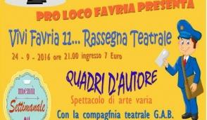 A Favria col teatro... si fa del bene