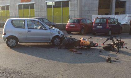 Auto contro moto: i feriti sono di Corio e Rocca