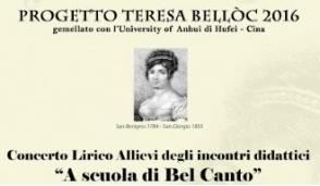 Spettacolo lirico al teatro Teresa Belloc