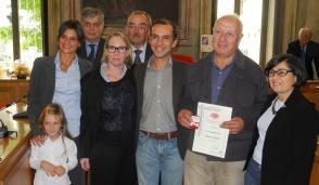 Donatore Fidas da record: Domenico Gigliotti ha raggiunto quota 100