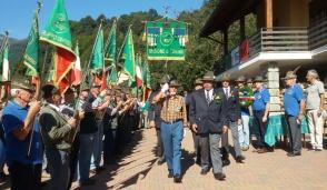 Gruppo Alpini  in festa per il 16° di fondazione