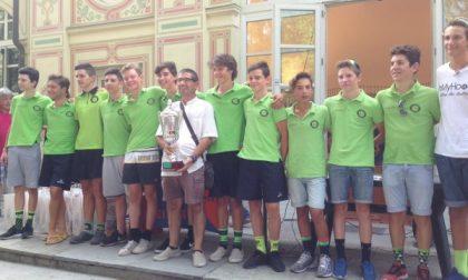 I giovani ciclisti regalano spettacolo a Rivara
