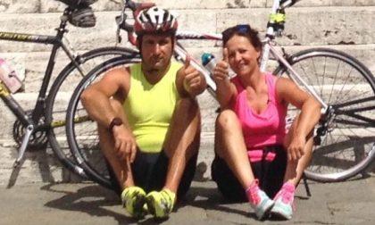 In bicicletta da Cintano a Roma per l'Angelus
