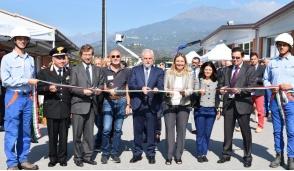 Inaugurato il nuovo polo E-distribuzione a Ivrea