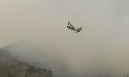 Incendio a Valprato: attivi ancora due focolai