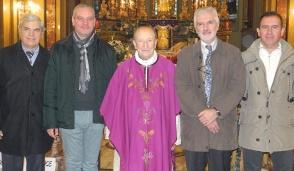 L'ultimo regalo ai mathiesi del parroco don Sergio Savant