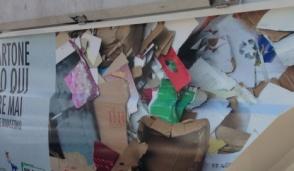 Raccolta straordinaria della carta per aiutare i terremotati