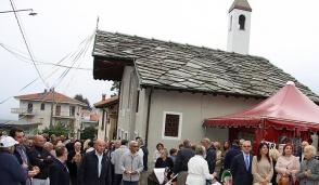 San Michele, l'Abbadia  è in festa