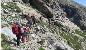 Tour del Monte Soglio con il Cai
