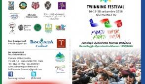 """Twinning Festival"", si celebra l'integrazione"