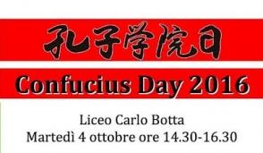 Al liceo Botta il Confucio Day
