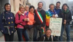 Anche Ivrea alla marcia Perugia-Assisi per la pace e la fraternità