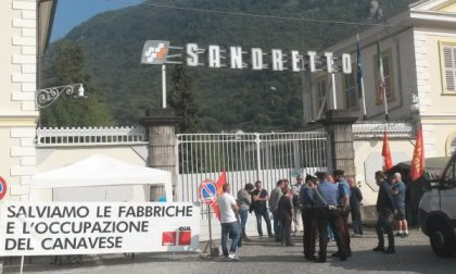 I lavoratori Sandretto pronti a far sentire la loro voce