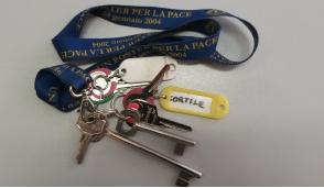Ritrovato un mazzo di chiavi a Rivarolo