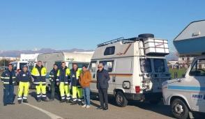 Caselle: gli aiuti per Norcia vittima del sisma