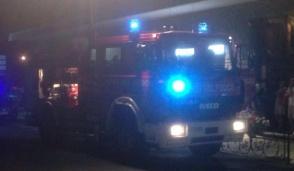 Rocca: camino in fiamme, notte di paura in località Berna