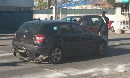 Tamponamento in via Re Arduino a Rivarolo