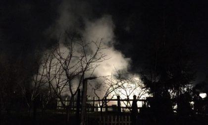 Barbania: violento incendio in borgata  Vignali