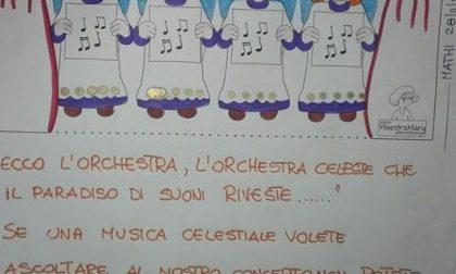 """I bimbi della """"Varetto"""" sul palcoscenico"""