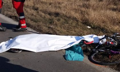 Ciclista muore investito da un camion