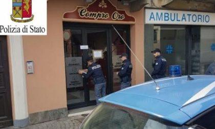 Compro Oro, scatta il sequestro dei punti vendita di Cuorgnè, Ciriè e Rivarolo dopo l'inchiesta della Polizia su un giro di ricettazione