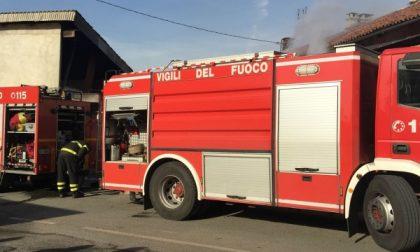 Incendio ad un vecchio cascinale a Leini, morto il cane