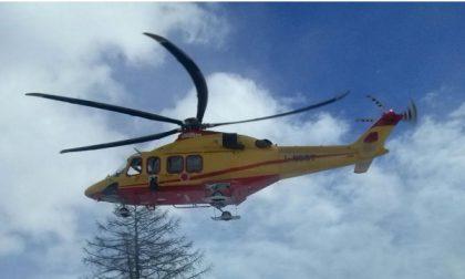 Sciatore di Caselle cade durante una gita in montagna