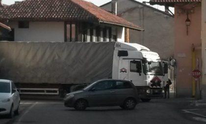 Un altro camion non ha rispettato i divieti