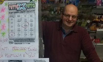 Caselle: nuova vincita da  500 mila euro