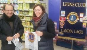 Con il Lions  Candia Lago  la raccolta di prodotti per l'infanzia
