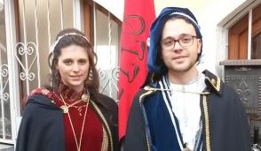 Giorgia e Micheal sono i Signori del Rione Romanello