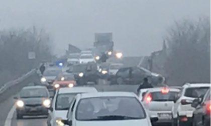 Incidente sulla Pedemontana, traffico rallentato