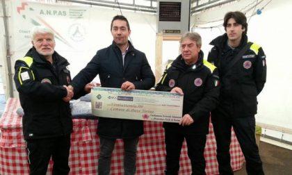 La Protezione civile consegna 27mila euro a Pieve Torina