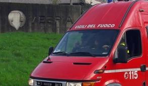 Allarme Vespia, sopralluogo di carabinieri e vigili del fuoco