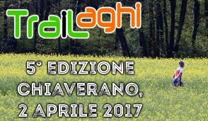 """Chiaverano ospita domenica 2 il quinto """"TraiLaghi"""""""