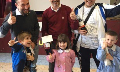 Ecco i papà vincitori del concorso dell'asilo Chiariglione