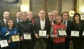 Il Panathlon ha premiato i migliori sportivi del 2016