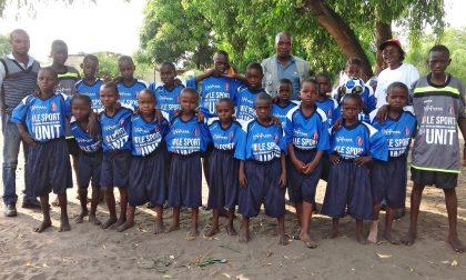 """Il grande cuore del """"Fiano Plus"""": divise da calcio ai ragazzi in Congo"""