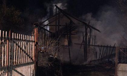 Incendio in un'abitazione stasera a Nole