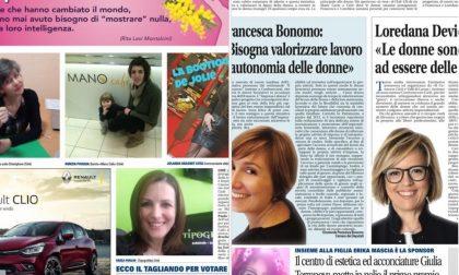 """L'onorevole Francesca Bonomo e il sindaco di Ciriè Loredana Devietti madrine dell'iniziativa """"Impresa è Donna"""""""